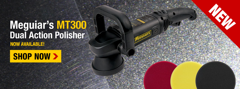 Meguiar's MT300 Dual Action Car Polisher